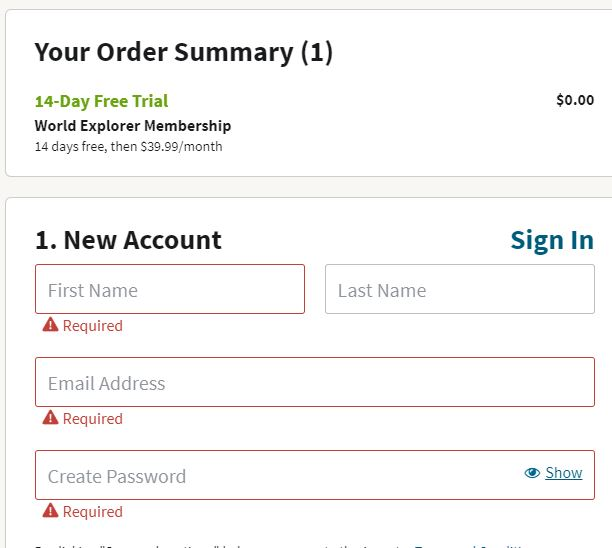 How to Sign Up for an Ancestry.com Account